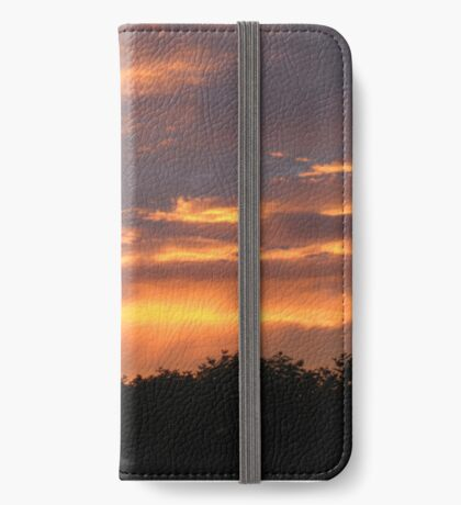 Sunset glory iPhone Wallet