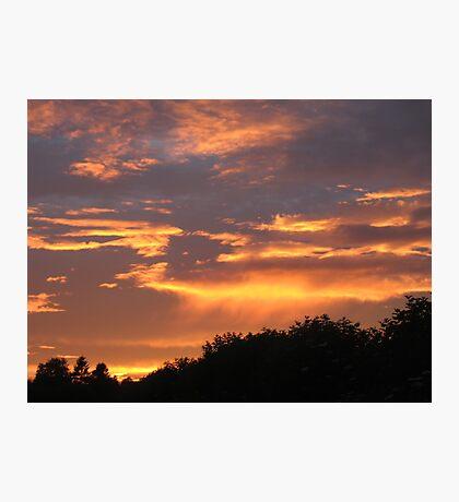 Sunset glory Photographic Print