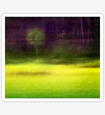 Mitchell Park ~ the impressionist's view II Sticker