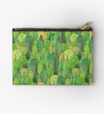 Watercolor forest Studio Pouch