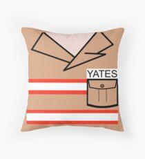 GB Yates Throw Pillow