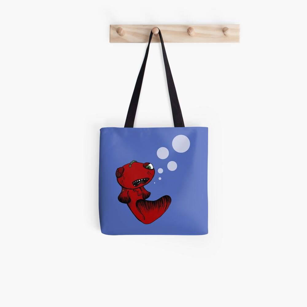Grumpy fish Tote Bag