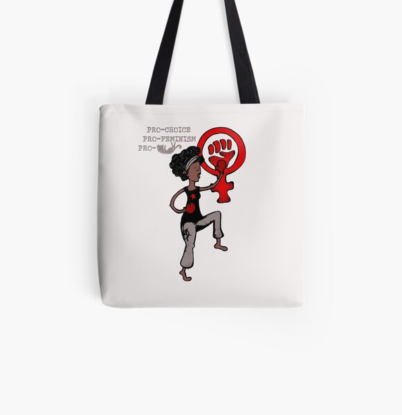 Juliette Feminist woman All Over Print Tote Bag