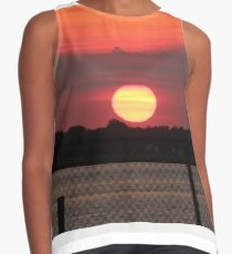 Island Park Big Sun Ball Sunset Contrast Tank
