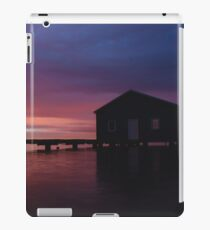 Crawley Boat House sunrise iPad Case/Skin