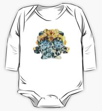 Bumblebee Portrait with Triangles One Piece - Long Sleeve