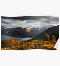 The Five Sisters of Kintail Poster