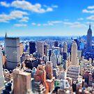 New York City Miniatur von kijkopdeklok