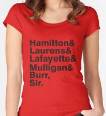 The Hamilton Crew Women's Fitted Scoop T-Shirt