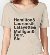 The Hamilton Crew Women's Relaxed Fit T-Shirt