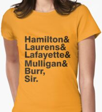 The Hamilton Crew Women's Fitted T-Shirt