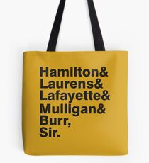 The Hamilton Crew Tote Bag