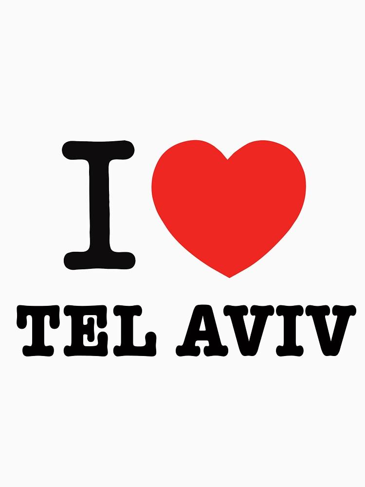 i love Tel Aviv by Ronsho