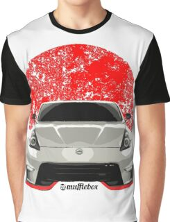 Nissan 370z Red Flag Graphic T-Shirt