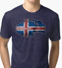 Iceland Frag  Tri-blend T-Shirt