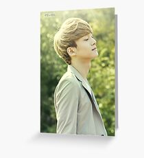 EXO - Chen - ( Nature Republic ) Greeting Card