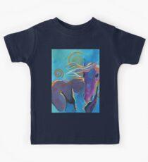 Purple Horse Kids Tee
