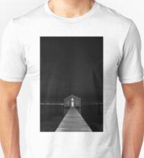 Crawley Edge Boat Shed at Night Unisex T-Shirt