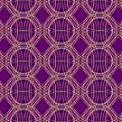 Tartan Mess - Purple by ifourdezign