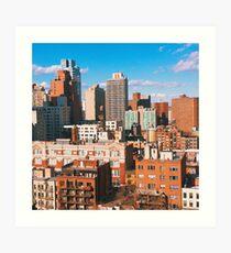 Lámina artística NYC Rooftops