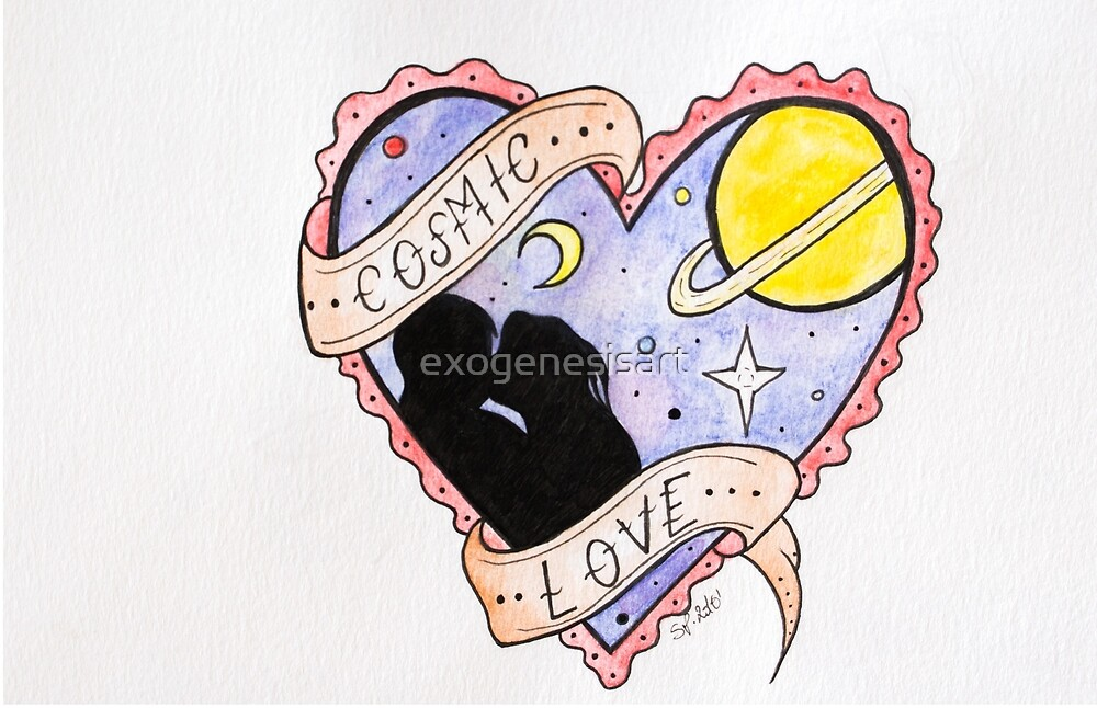 Cosmic Love (Florence + the  Machine) by Sara Potenza
