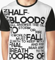 Heroes of Olympus Prophecy Graphic T-Shirt