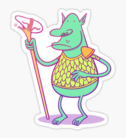 Goblin Dude Sticker