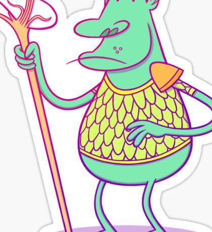 Goblin Dude Sticker