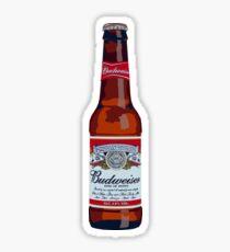 Budweiser Bottle Sticker