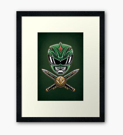 Dragonzord Power - Print Framed Print