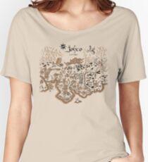 Johto Karte Loose Fit T-Shirt