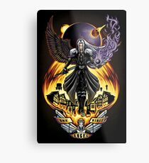 One Winged Angel - Print Metal Print
