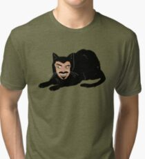 Vlad the Cat (Gray) Tri-blend T-Shirt