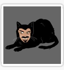 Vlad the Cat (Gray) Sticker
