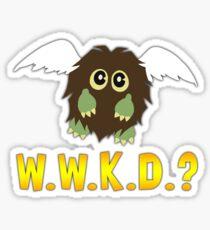 What Would Kuriboh Do? (W.W.K.D.?) Sticker