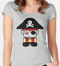 Pirate O'BOT 1.0 Fitted Scoop T-Shirt