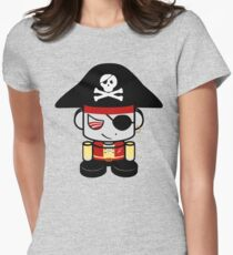 Pirate O'BOT 1.0 Women's Fitted T-Shirt