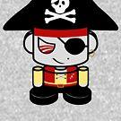 Pirate O'BOT 1.0 by Carbon-Fibre Media