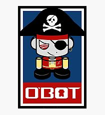 Pirate O'BOT 2.0 Photographic Print
