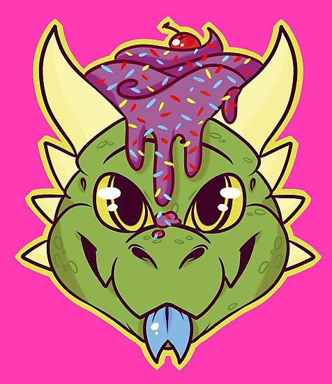 Cupcake Dragon by CupcakeCreature