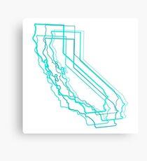 california blur Metal Print