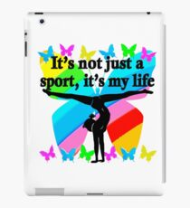 GYMNASTICS GOALS AND DREAMS iPad Case/Skin