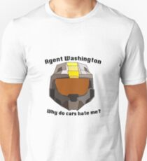 Agent Washington Unisex T-Shirt