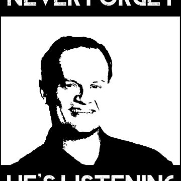 Frasier Crane - He's Listening by 21Posters
