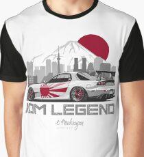 RX7. JDM Legend Graphic T-Shirt