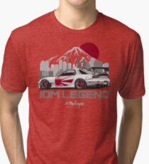 RX7. JDM Legend Tri-blend T-Shirt