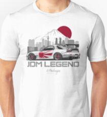 Camiseta unisex RX7. JDM Legend