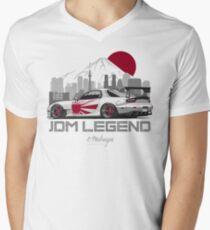 RX7. JDM Legend Men's V-Neck T-Shirt