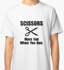 Scissors Fun Run Classic T-Shirt