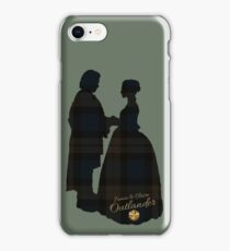 Outlander/Wedding Silhouettes  iPhone Case/Skin
